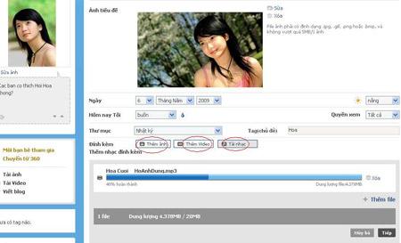 Sáng tác blog với khả năng lưu nháp như Gmail