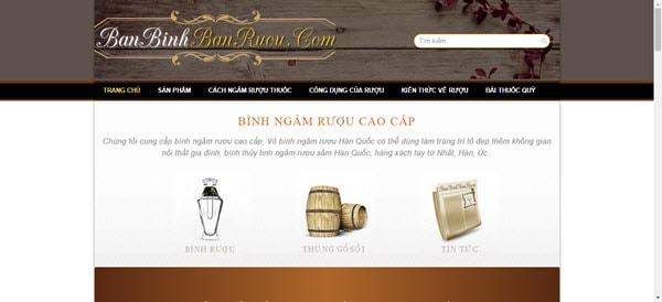 Bán bình rượu - banbinhbanruou.com