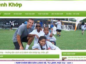 Bệnh khớp - benhkhop.com