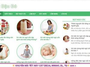Bột đậu đỏ - botdaudo.com