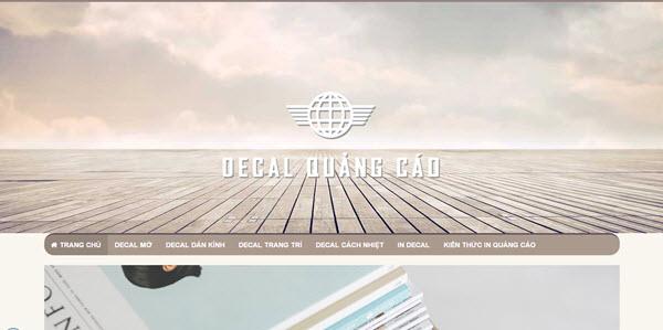 Decal quảng cáo - decalquangcao.com