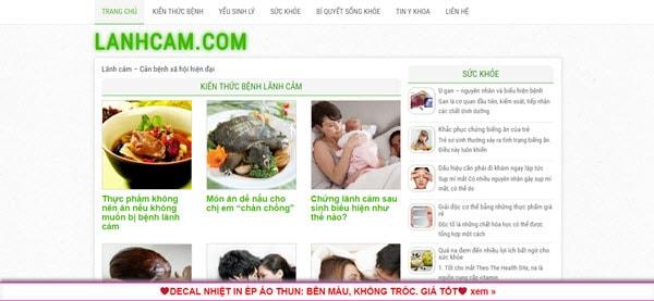 Lãnh cảm - lanhcam.com