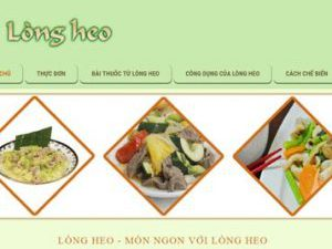 Lòng heo ngon - longheo.com