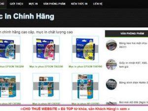 Mực in chính hãng - mucinchinhhang.com
