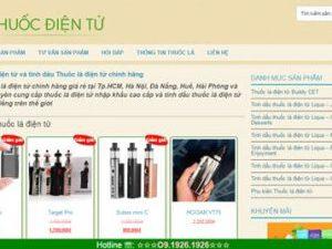 Thuốc lá điện tử - thuocdientu.com