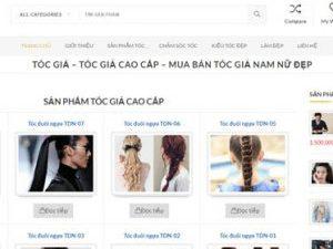 Tóc giả đẹp - Tocgia.com