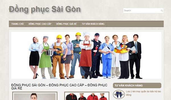 Đồng phục Sài Gòn - dongphucsaigon.com