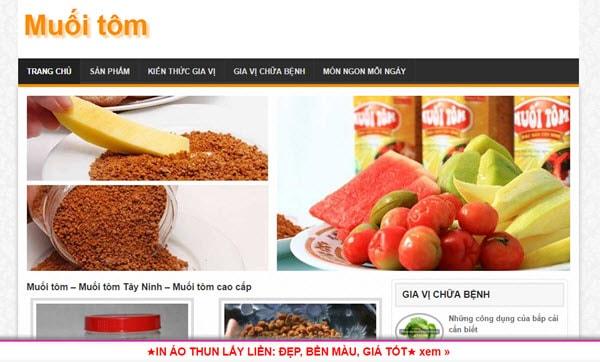 Muối tôm - muoitom.com