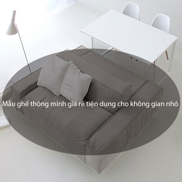 Mẫu ghế thông minh giá rẻ tiện dụng cho không gian nhỏ