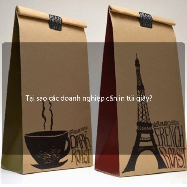 Tại sao các doanh nghiệp cần in túi giấy?